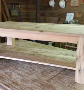 Coffee Table with lower Shelf