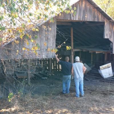 1890's machine shed