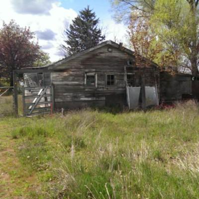 Early 1900s storage barn