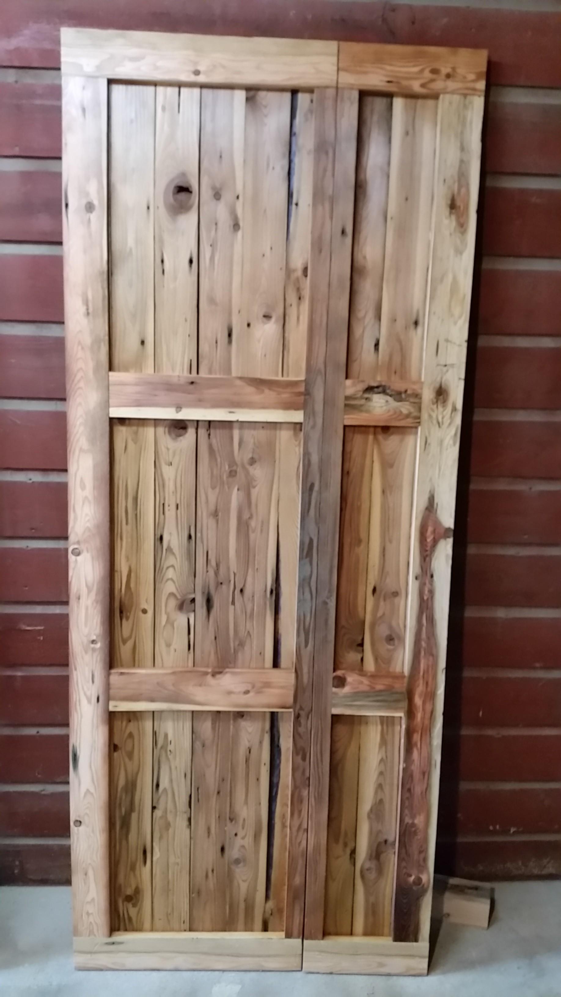 Off Center Split Sliding Door